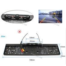 Einparkhilfe 170 Grad CCD Auto rückfahrkamera IR LED nachtsicht kennzeichen kennzeichenhalter rückansicht cam