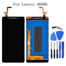 Adecuado para Lenovo A6000 K3 K30 T LCD Pantalla de cristal líquido con la pantalla táctil pantalla digitalizador componente para Lenovo A6000 pantalla