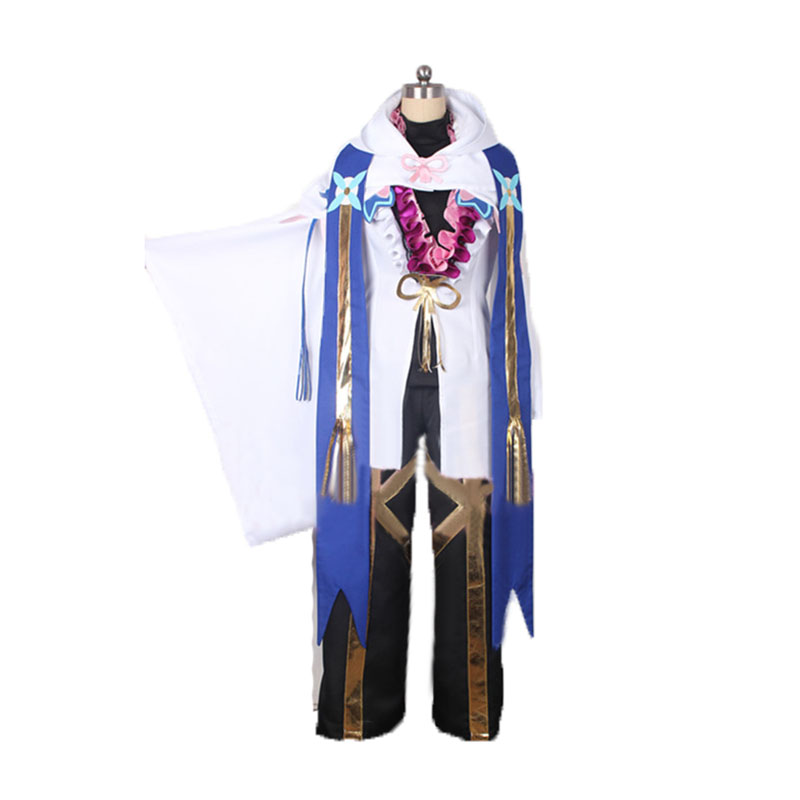Fate Grand Order Cosplay Caster Merlin Ambrosius Carnival Cosplay Costume