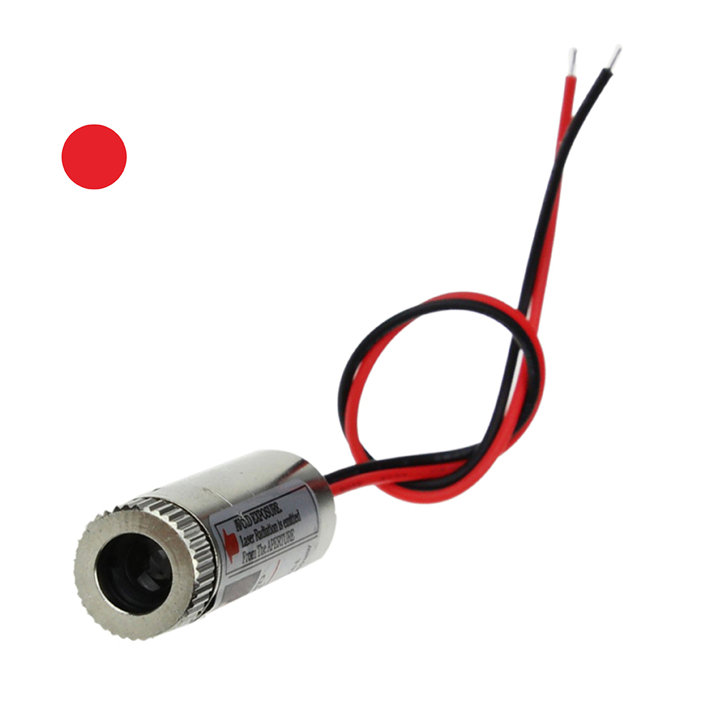 Image 2 - Hot Sale 650nm 5mW Red Point / Line / Cross Laser Module Head Glass Lens Focusable Industrial Class-in Woodworking Machinery Parts from Tools