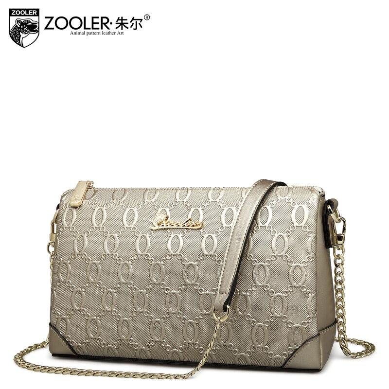 ФОТО ZOOLER wholesale ZOOLER New arrival women messenger cowhide bags luxury handbags women bags designer fashion crossbody bag #2116