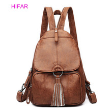 Women Backpack Soft Leather Anti-theft Large Capacity Leisure Travel Bag Woman Teenage Fashion Casual Daypack