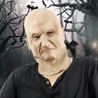 TAOS Halloween Horrible Scary Disgusted Deformed Old Male Face Mask Helloween Cosplay Party Costume Dress Up