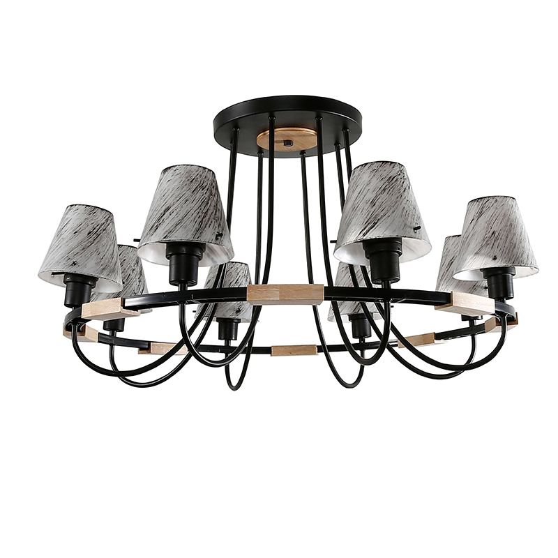 3/8 Branching Modern Light Chandelier Lighting Led Ceiling Lamp Black Chandelier Ceiling Fixtures For Living Room