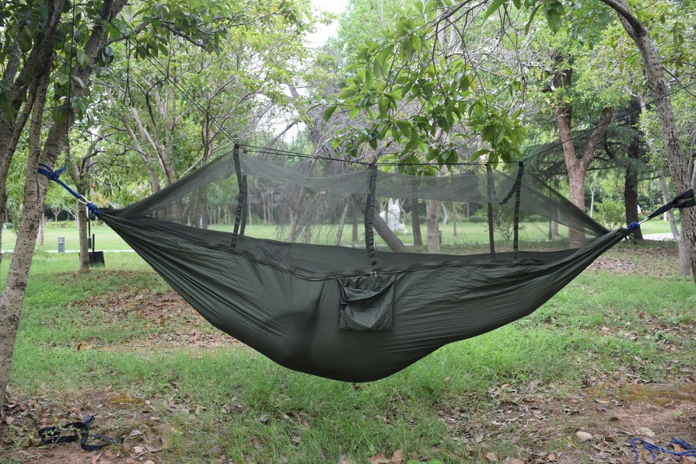 double-person-travel-outdoor-camping-tent-hanging-hammock-bed-mosquito-net-green