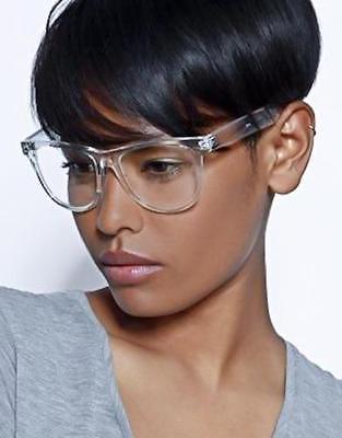 crystal square transparent glasses classic clear frame eyeglasses mens women nails vintage eye glasses optical spectacles