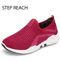 STEPREACH Brand Shoes Woman Boots Flat Casual Round Toe Short Plush Comfortable Slip On Ankle Boots