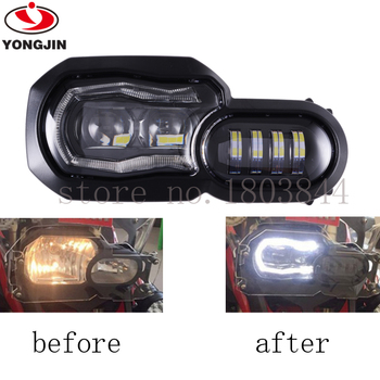 For BMW  F800GS F800GS F800R F700GS F650GS LED Headlight Projector (brighter than HID) FAST DHL SHIPPING!