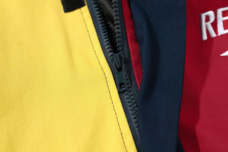 Vintage Color Block Patchwork Jackets 6