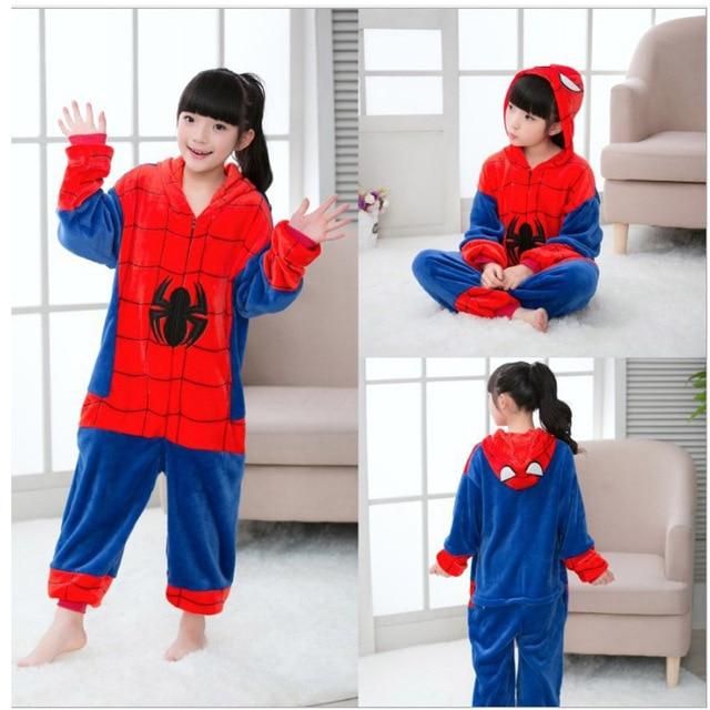 c502625e US $14.65 |Little Bitty children animal cat fox panda owl giraffe pokeman  kigurumi stitch pig tiger spiderman dinosaur baby kids pajamas-in Pajama ...
