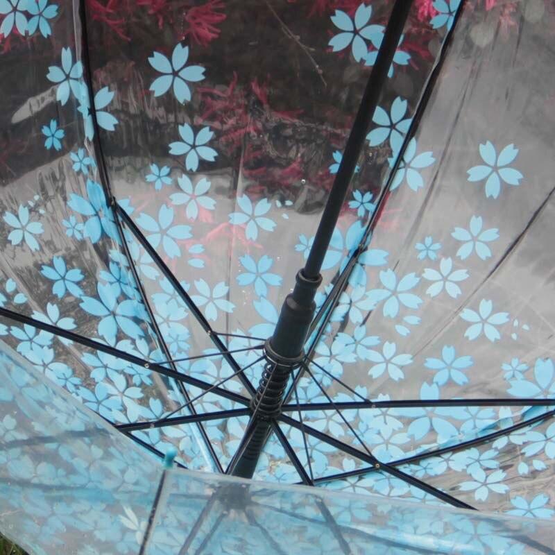 Japanische Kirsche Blume Kunststoff Dach Verdickung Transparente
