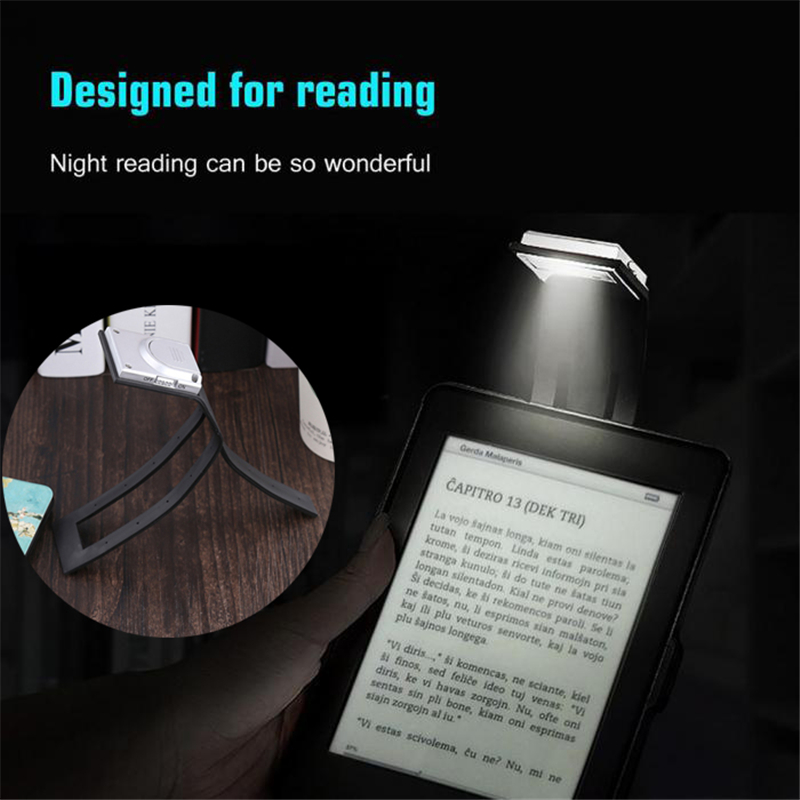 Book Lights Led Book Light 2.5mm Thickness Flat Panel Reading Night Lamp Adjust Lighting Portable Book Reading Light Night Reading Light Grade Products According To Quality