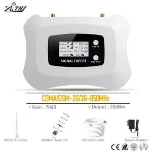 Image 1 - New fashion Smart CDMA 2g 3g Cell phone Amplifier 850mhz cellular signal repeater 2G mobile signal booster for America AU area