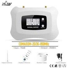 Nieuwe mode Smart CDMA 2g 3g Mobiele telefoon Versterker 850mhz cellulaire signaal repeater 2G mobiele signaal booster voor Amerika AU gebied