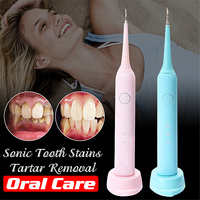 Portable Electric Sonic Dental Scaler Remover Tooth Stains Calculus Tartar Tool Toothwash Dentist For Beauty Oral Care 3 Modes
