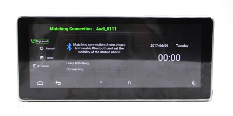 Liislee Car Multimedia Player NAVI 10.25 inch For Audi A4 B8 8K 2009~2016 Original Car MMI Style Radio Stereo GPS Navigation (13)