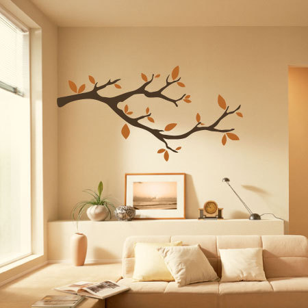 whimsical little part tree branches wall decals nuesery tree kids