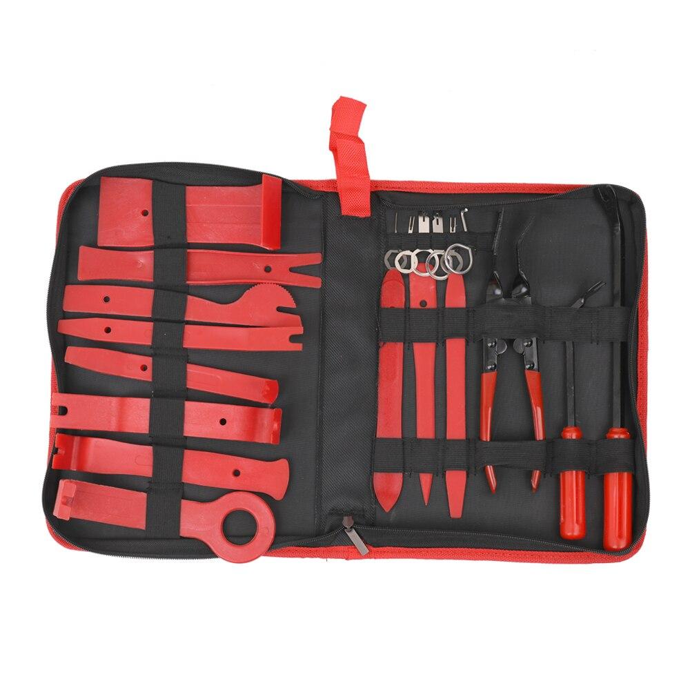 כלים יד 20pcs multitool כלים להסרת הרכב Trim התקנת DIY הריסה שחרר כלי כלי יד תיקון קיט מברג מפתח פלייר מסיר (1)