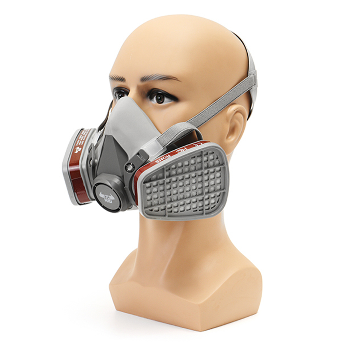 DANIU Protective Dust Mask Gas Comprehensive Cover Paint Chemical Masks Pesticide Gas Mask Dustproof Escape Breathing Apparatus high quality dustproof gas masks blue silica gel protective mask dust pesticides industrial safety safety masks