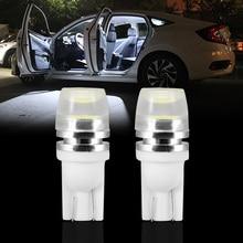 NOVSIGHT T10 W5W светодиодный лампы с Epistar откалывают 168 194 автомобильные аксессуары Габаритные огни для чтения настольная лампа Авто дневные ходовые огни 12V Белый Мотор