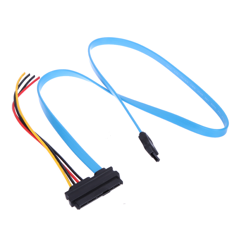 7 Pin SATA Connector to 4 Pin Male Power Connector and 29 Pin SAS Connector better than SCSI parallel interface