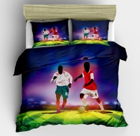 3D Football Basketball Athlete Design Twin King Queen Double Bedclothes Pillowcase Bed Linen Set Duvet Cover Set Bedding Set