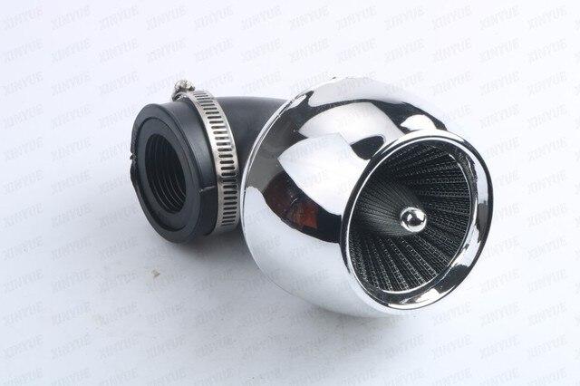 48mm 42mm 35mm filtro de aire de rendimiento para GY6 125 150 cc Scooter Motocicleta ATV Kart