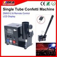 60 W Mini one cabeça máquina de Canhão fase confete de casamento máquina dmx512 controle blaster para Concert Theater DJ efeitos de Palco
