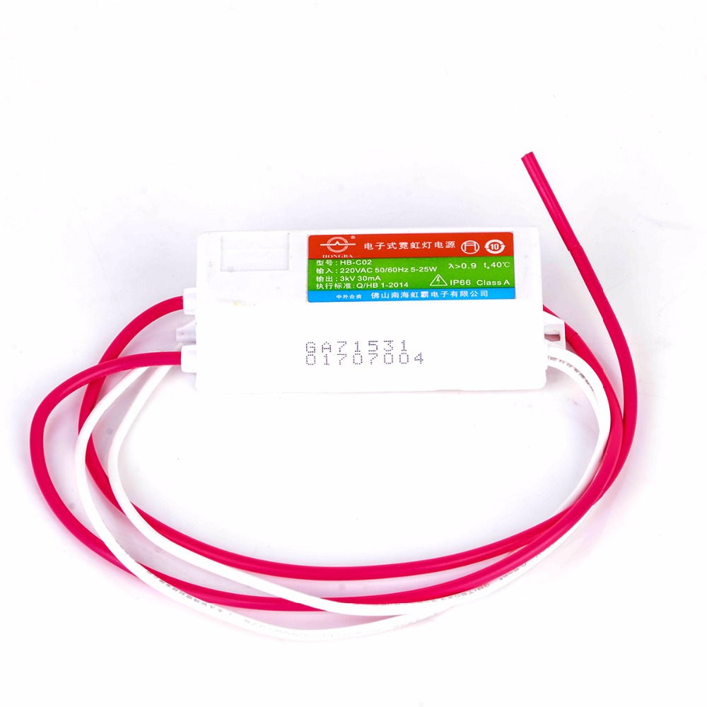 3kv Power Supplyuniversal Hb C02te 30ma 5 25w Glass Neon Sign Transformer Schematic Online Buy Wholesale From China