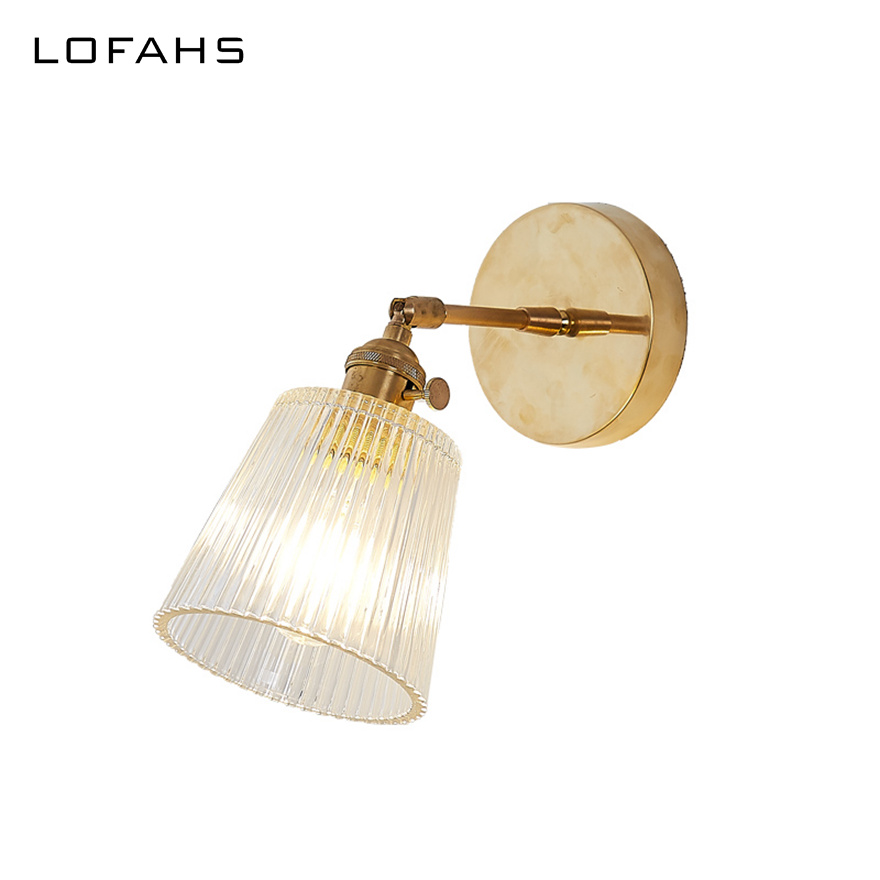 Traditional Vintage Glass Wall Lamp Beside Bed room Bathroom corridor Light Wall Sconces Copper Home Lighting Luminaire WJ003Traditional Vintage Glass Wall Lamp Beside Bed room Bathroom corridor Light Wall Sconces Copper Home Lighting Luminaire WJ003
