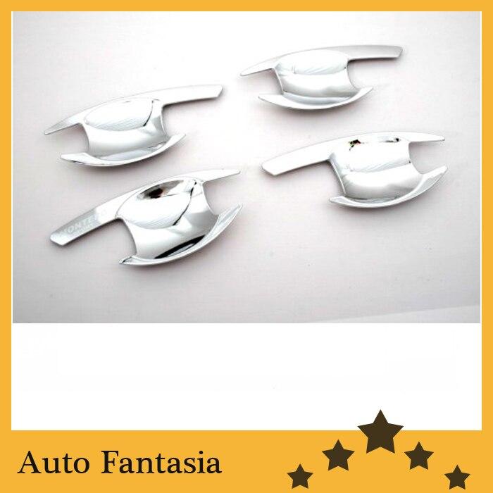 ⑤Car styling cromo puerta cavidad Bowl para Mitsubishi Challenger ...