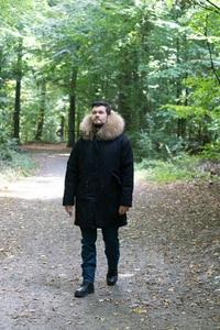 Image 4 - معطف شتوي للرجال مقاس كبير من OFTBUY موضة 2020 معطف بفرو حقيقي كبير وياقة من الفرو الراكون الطبيعي ملابس خارجية سميكة ودافئة ملابس خارجية