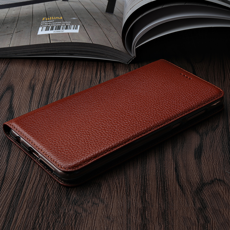 Vintage Genuine Leather Case For Huawei P20 Plus or Pro Luxury Mobile Phone Cases