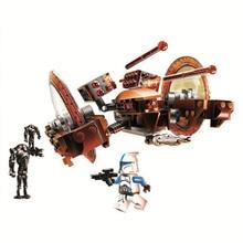 Bela Compatible Legoe Lepins 10370 Star Wars Attack Of Clones Hailfire Droid Exclusive  Building Blocks Bricks Toys