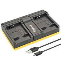 Probty NB 11L NB 11L USB Daul Charger For Canon PowerShot A2300 A2600 A2400 A3400 A4000