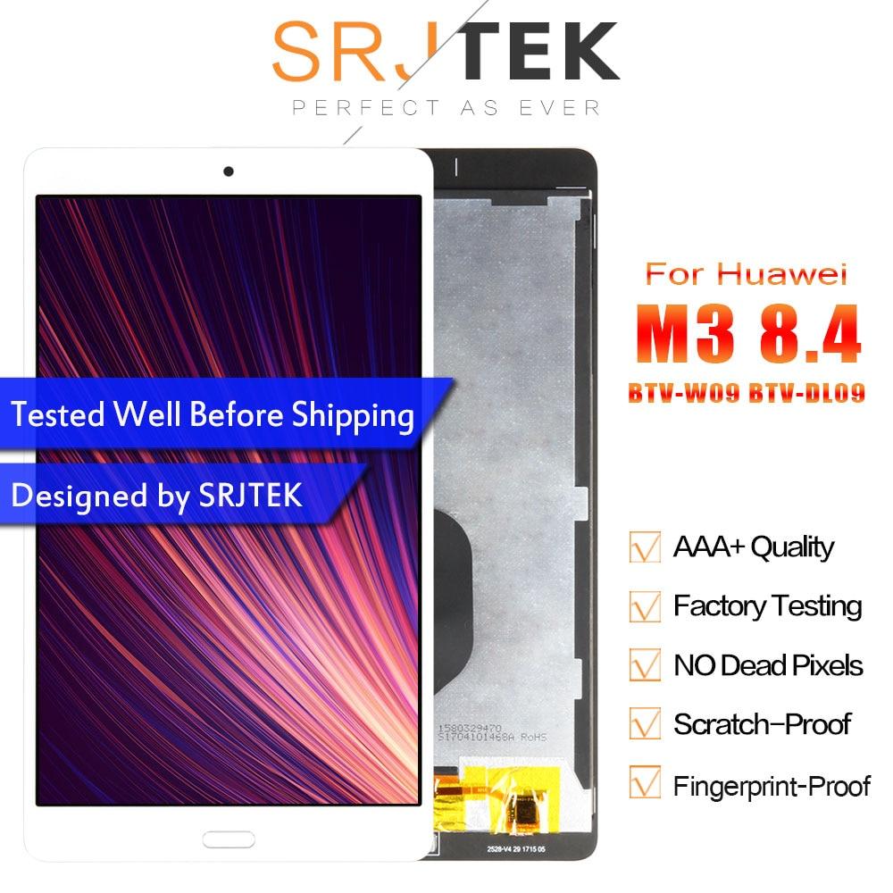 Srjtek 8 4 For Huawei MediaPad M3 BTV W09 BTV DL09 LCD Display Matrix Touch Screen