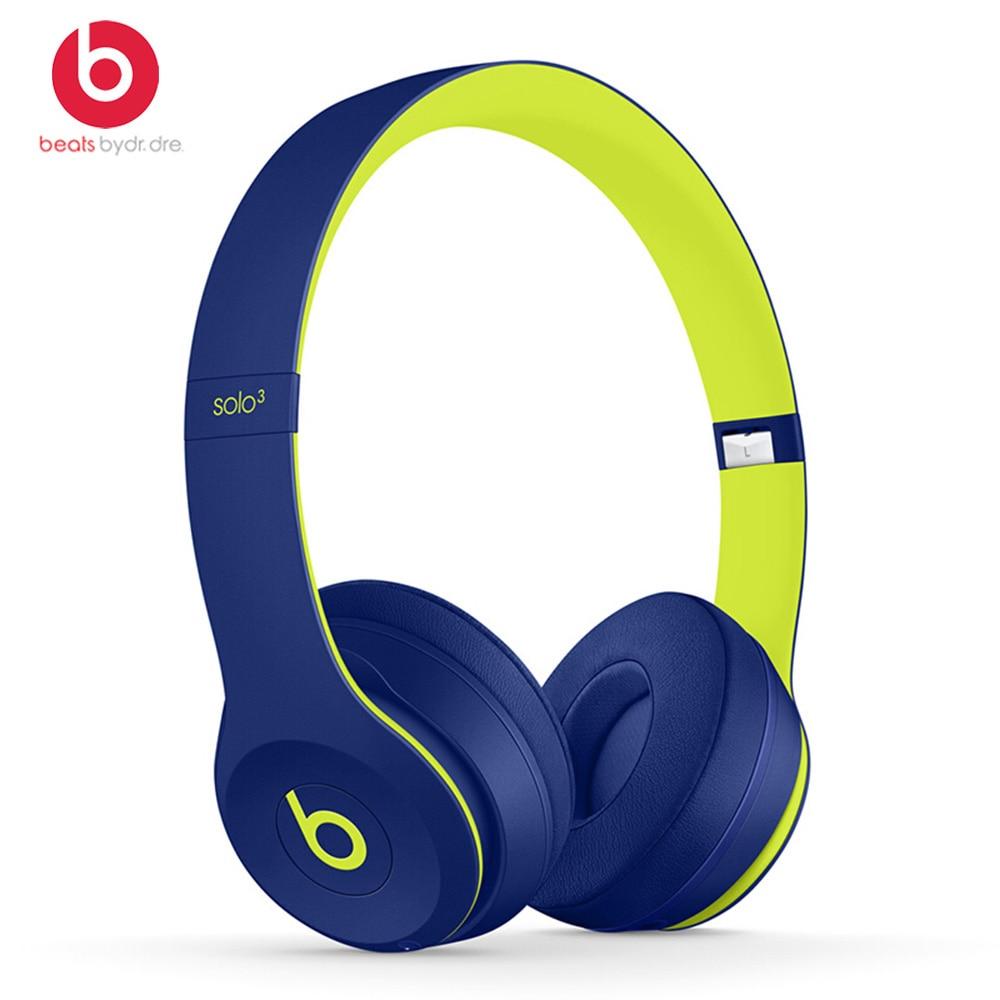 Image 2 - Beats by dre Solo3 Wireless Bluetooth Headphone On Ear Earphones Gaming Headset Music Hands free Earphone Solo 3  with Mic foneBluetooth Earphones & Headphones   -