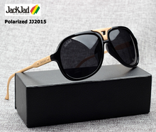 ФОТО jackjad 2018 fashion jj2015 carry polarized aviation style sunglasses cool brand design zinc alloy leg sun glasses oculos de sol