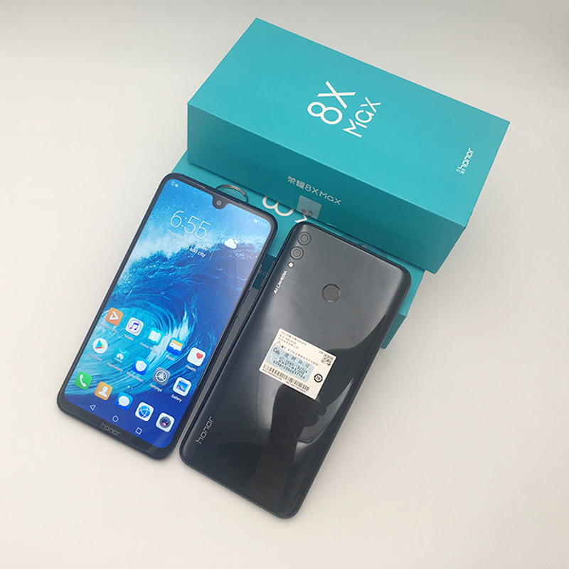 Ehre 8X Max 7.12 ''großen Bildschirm OTA update Smartphone Dual Kamera Android 8,1 Octa Core 4900mAh batterie fingerprint ID