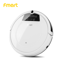 Fmart E 550W(S) Robot Vacuum Cleaner Home Cleaning Appliances With Auto Load Cleaners Suction+Sweeper +Mop Led Display Aspirator