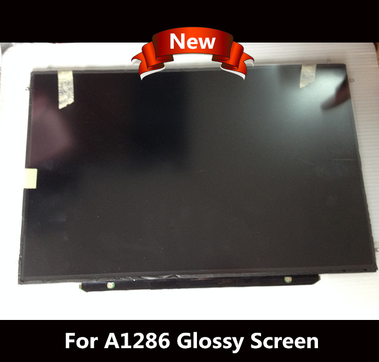 NEW Matrix for Macbook Pro 15  Glossy LED LCD Screen A1286 Display replacement screen Laptop 1440X900 2008 -2012 Year original new space grey silve laptop a1706 lcd assembly 2016 2017 for macbook pro retina 13 a1706 lcd screen assembly mlh12ll a