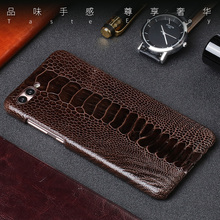 Luxury Natural Ostrich foot skin For Huawei Nova 2S 5 case Real Genuine leather Cover P8 P9 P10 Mate 20 8 9 10 lite P Smart
