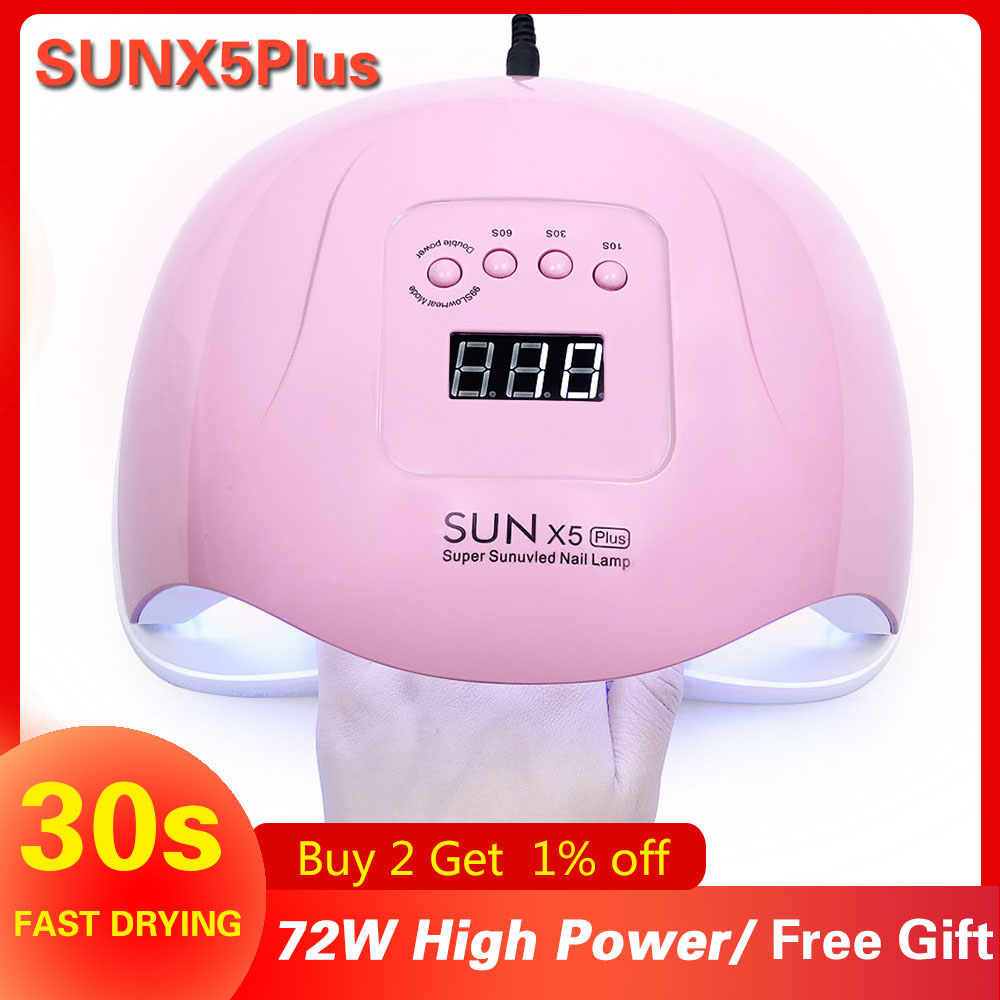 SUN X5 Plus UV LED Lamp 72W Nail Dryer LCD Monitor 36 LED Nail Dryer Dry Light Curing Gel Polishing Sensor Smart Timer Manicure-in Nail Dryers from Beauty & Health on Aliexpress.com | Alibaba Group