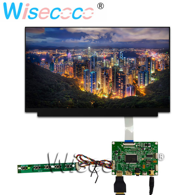 """13.3"""" display LCD TFT 1920 * 1080 FHD display with 2HDMI mini USB control driver board for laptops, Windows PC"""