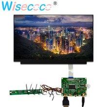 """13.3 """"ekran LCD TFT 1920*1080 FHD ekran 2 ile HDMI mini USB kontrol sürücü panosu için dizüstü bilgisayarlar, windows PC"""