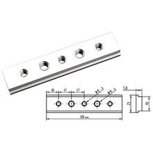 100mm T Track Slot Sliding Slab Slide Block for T-slot T-track Woodworking Tool m8 t track sliding nut t slot nut for woodworking tool slot fastener