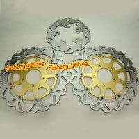 Front Rear Brake Disc Rotors Set For Suzuki 2004 2005 GSXR 600 750 K4 & 2003 2004 GSXR 1000 K3, Motorcycle Parts & Accessories