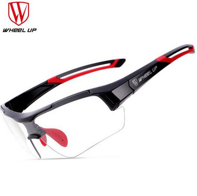 b7b43422bf2 WHEEL UP Photochromic Cycling Glasses Discoloration Glasses MTB Road Bike  Sport Sunglasses Bike Eyewear Anti-