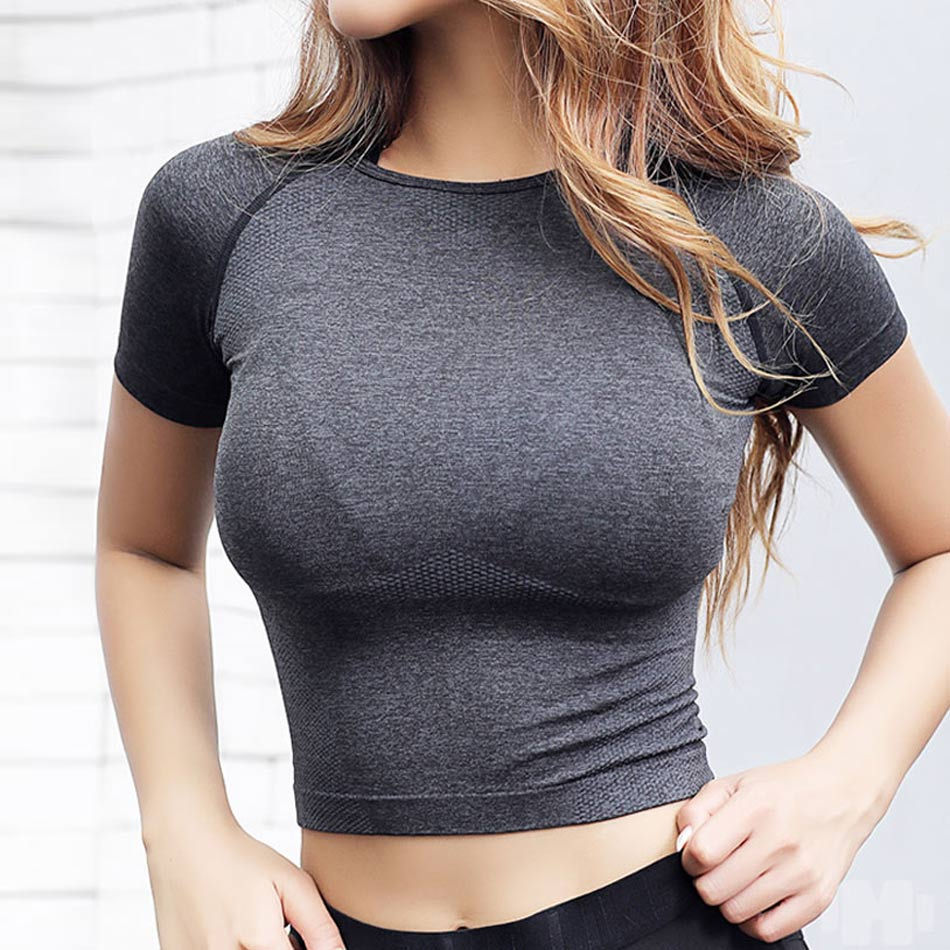 Seamless Fitness Crop Top 1