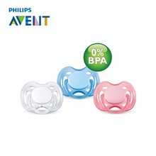 AVENT Silicone Baby Pacifier Infant Baby Nipple 0-6m Newborn Free Flow Teat Pacifier Feeding Soother Chupeta Alimentadora